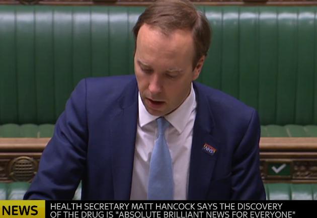 Matt Hancock - Government will have no truck with anti-vaccination campaigner