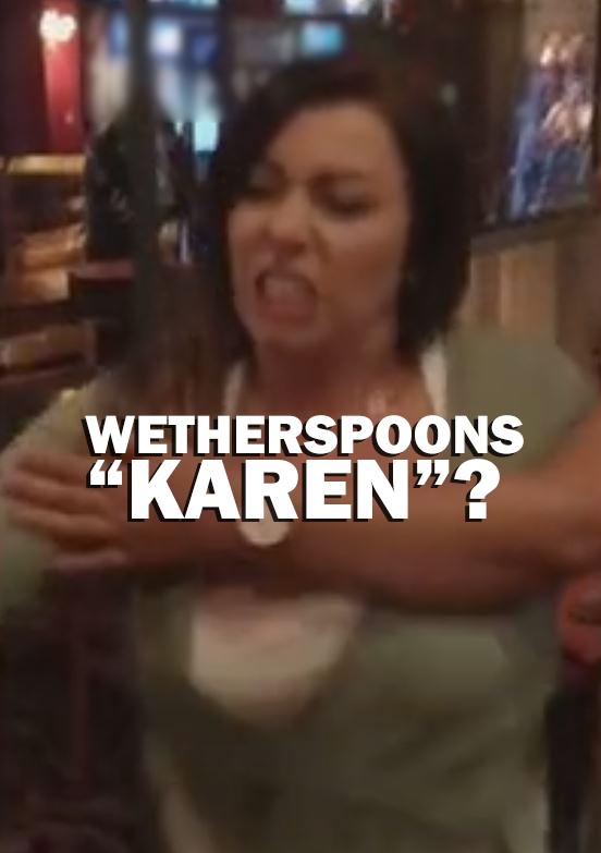 WEATHERSPOONS KAREN ATTACKS POLISH WOMAN FOR SPEAKING LOUDLY