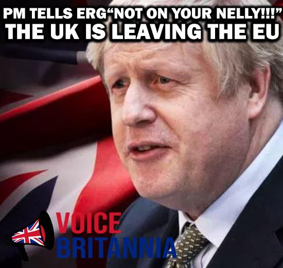boris johnson tells erg not on your nelly
