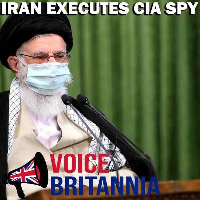iran executes cia spy Reza Asgari
