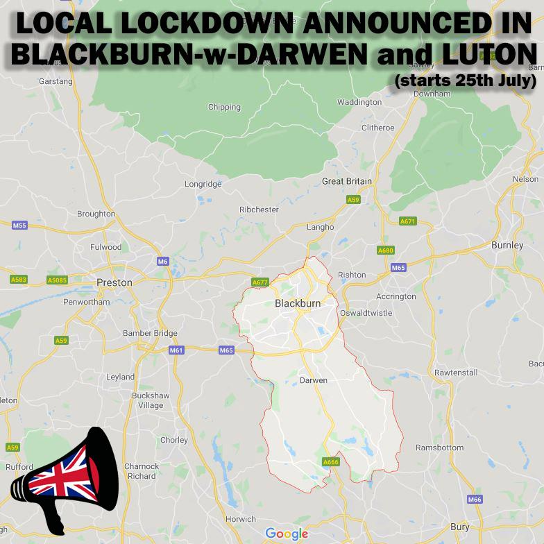 local lockdown announced in blackburn and luton