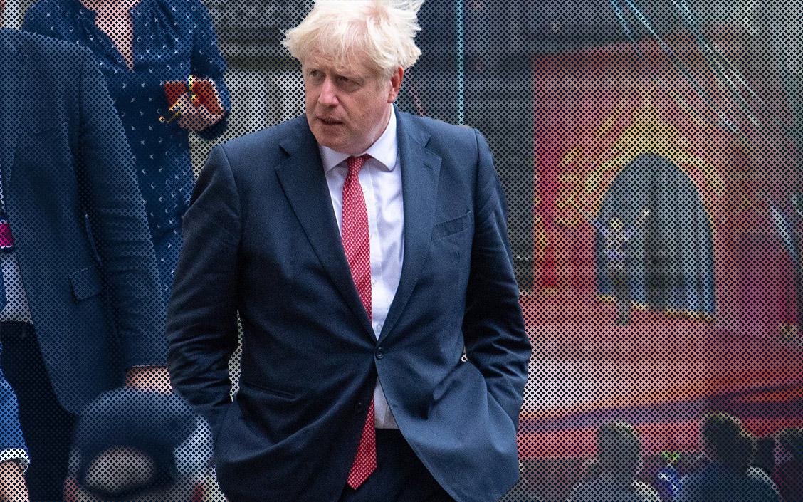 Boris johnson sept 2020 vb circus