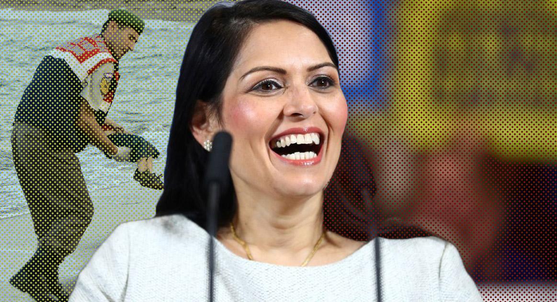 The Ghoulish Priti Patel - Voice Britannia