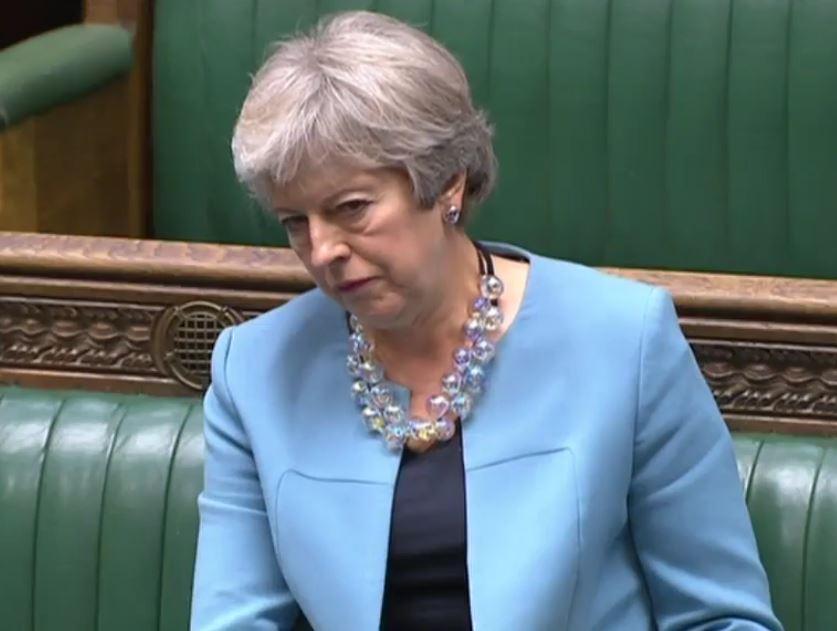 Theresa May 8th September 2020
